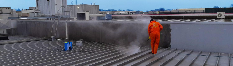 Vastgoedonderhoud reiniging onderhoud daken