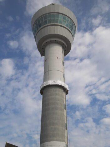 Conserveren verkeerstoren Schiphol Centrum